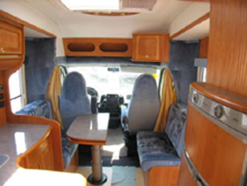 Hymer car camping related keywords suggestions hymer for Interieur camping car