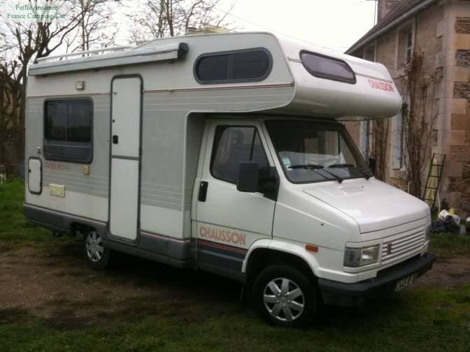 camping car c25 chausson acapulco 44 2 5l d auteur fcc. Black Bedroom Furniture Sets. Home Design Ideas